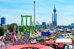 Cannstatter-Volksfest-Vista Panoramica