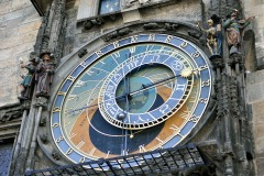 Praga orologio piazza