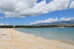 Isola di Pag - Spiaggia Zrce