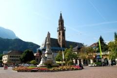 Mercatini di Bolzano piazza