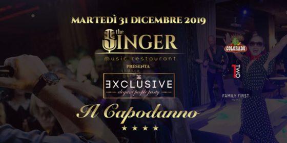 Capodanno The Singer Music Restaurant Milano-Locandina