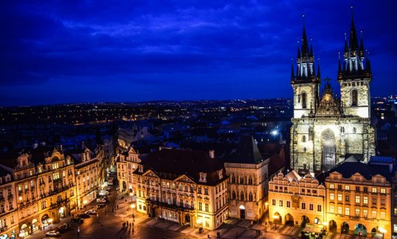 Praga - Vista Notturan
