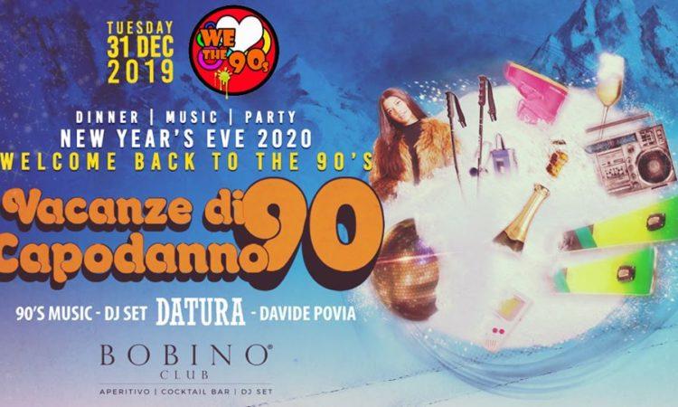 Locandina Capodanno Bobino Club