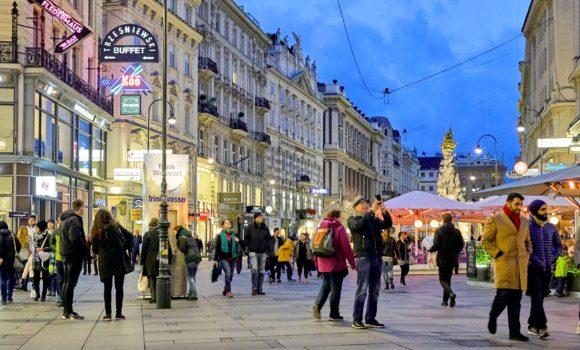 Vienna -Via dello Shopping Graben