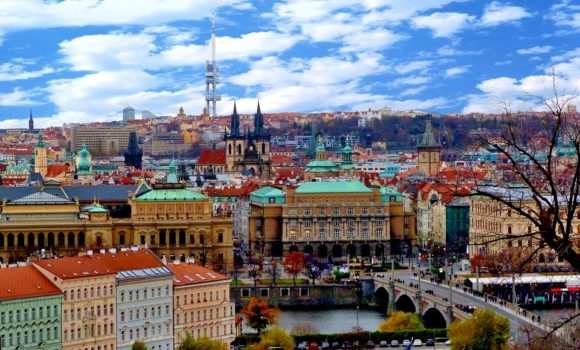 Praga - Panoramica della città