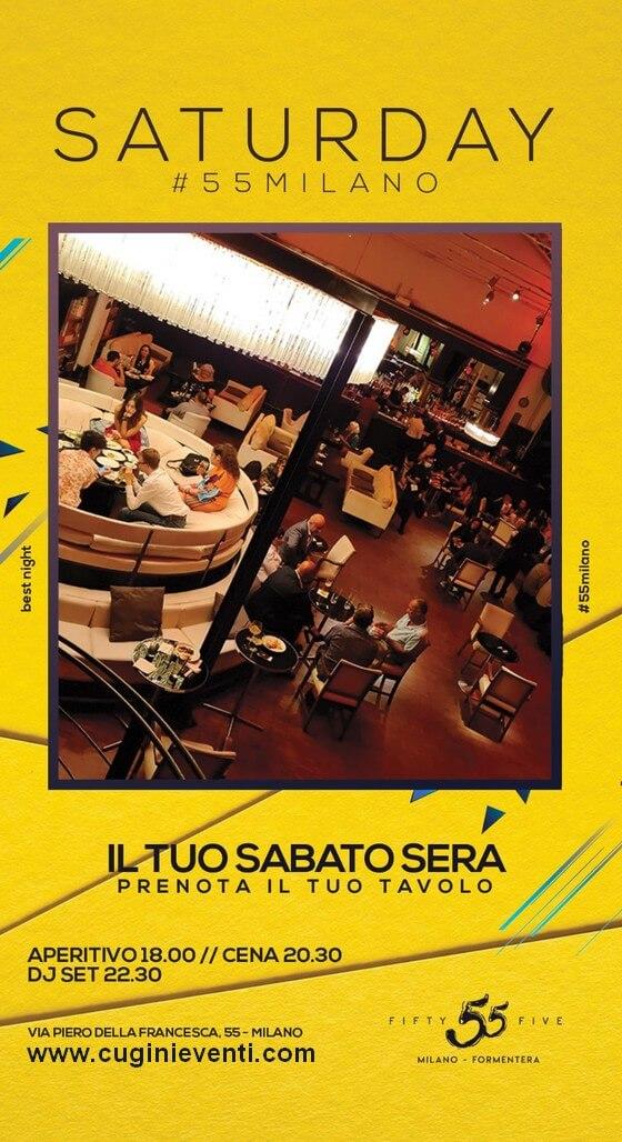 55 Milano sabato - Evento