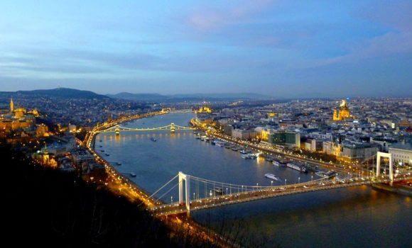 Budapest - Vista dall'alto