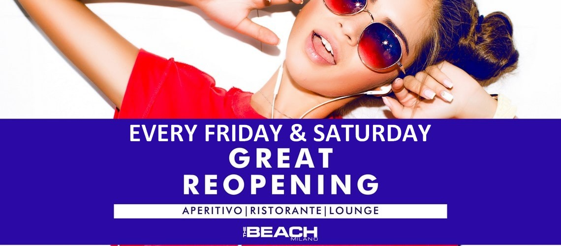 The Beach Club – venerdi / sabato