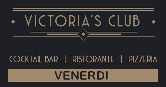 Victoria's Club Milano - copertina venerdì